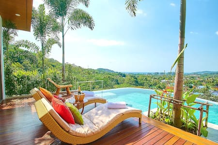 Villa Mantra Sea view Bangtao-Surin, 4BR, by owner - Phuket - Villa