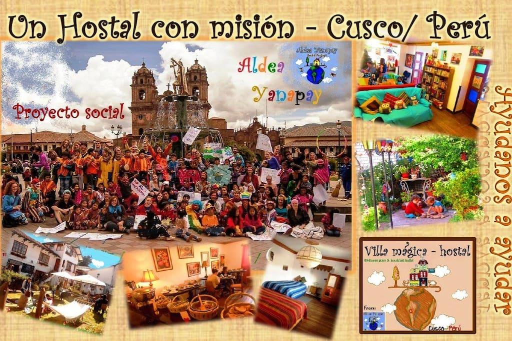 Our Social Project Aldea Yanapay/Nuestro proyecto social Aldea Yanapay