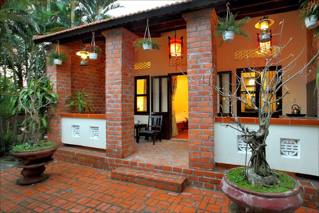 Nice House Garden View Apartments For Rent In Tp H I An