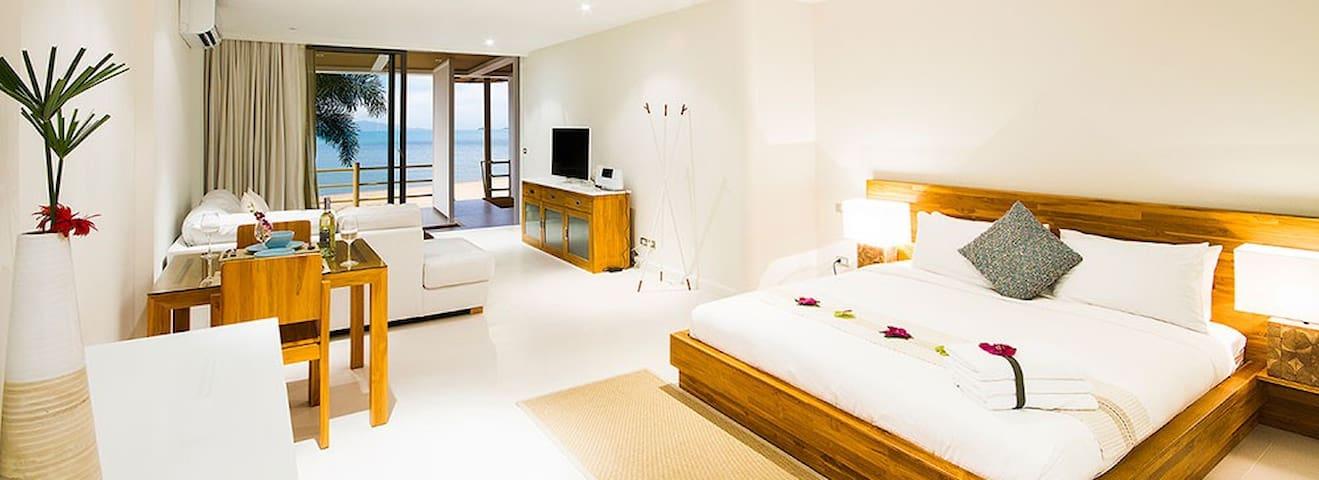 B1 Beachfront Apartments - Turquoise Suite, Bophut
