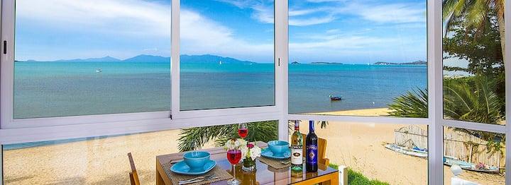 B1 Beachfront Apartments - Azure Suite, Bophut