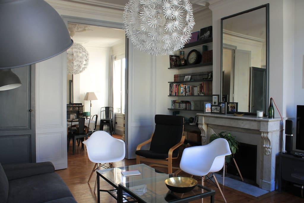 Bordeaux hypercentre 3 ch parking appartements louer for Appartement 20m2 bordeaux louer