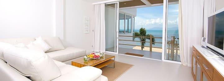 B1 Beachfront Apartments - Indigo Suite, Bophut