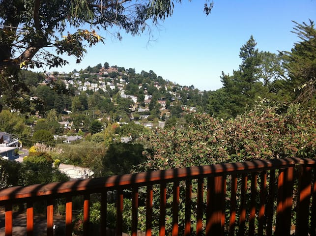 Lovely Private Hilltop Studio - Mill Valley - Apartment
