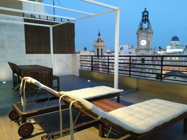 ATICO-LOFT DE LUJO.      VT-36576-V - València