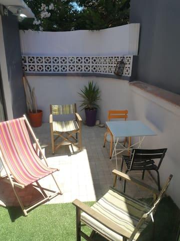 Maison canetoise 50m de la plage 5p +1p d'appoint - Canet-en-Roussillon - Casa