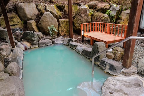 Private Out/In Door Onsen, tatoo ok, big room
