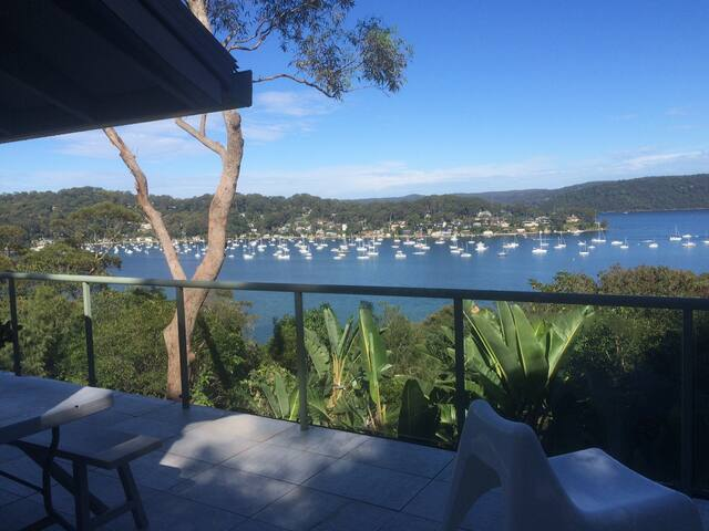 View over Pittwater from the Balcony