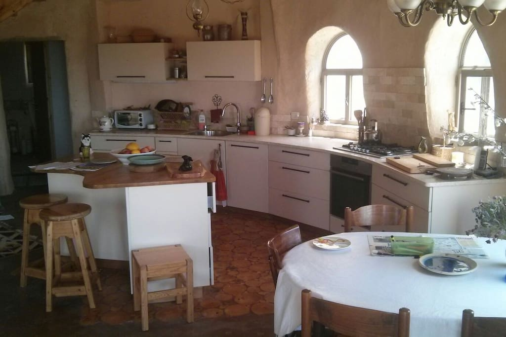 Fully equiped kitchen including dishwasher
