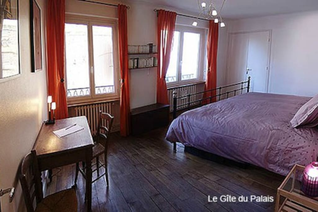Grande chambre de 17 m2