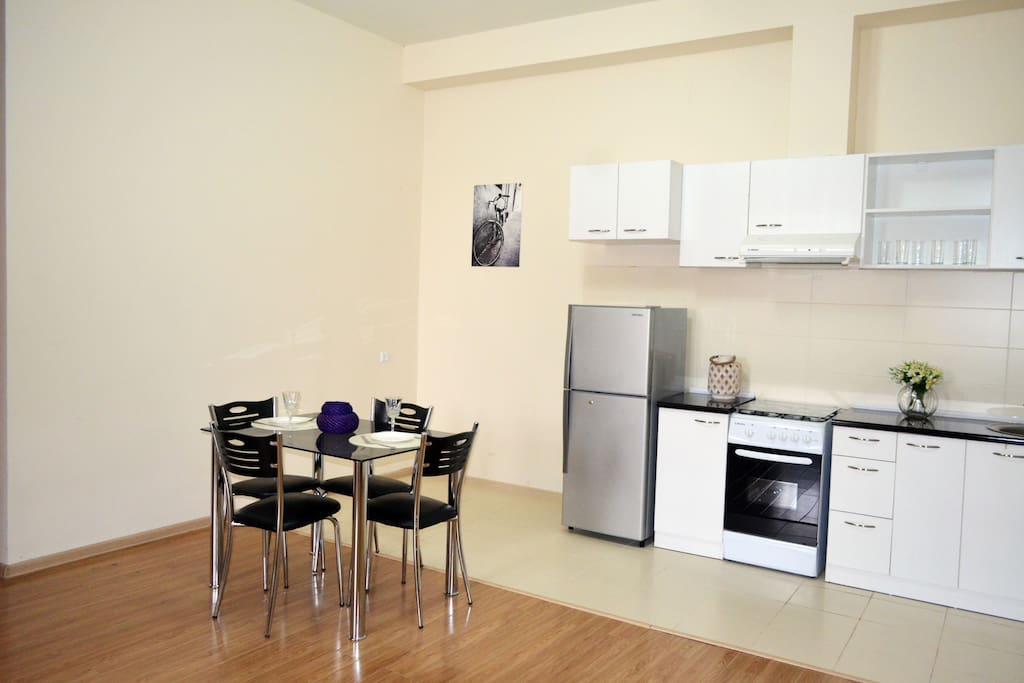 kitchen of two bedroom apartment