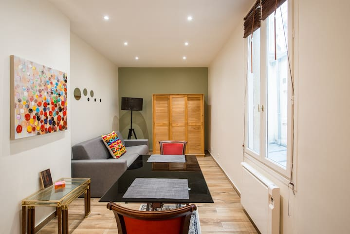 Cozy studio near the Bois de Vincennes