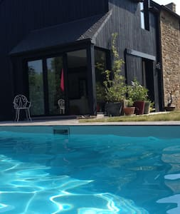 Maison de charme avec piscine proche Dinard - Le Minihic-sur-Rance - Hus