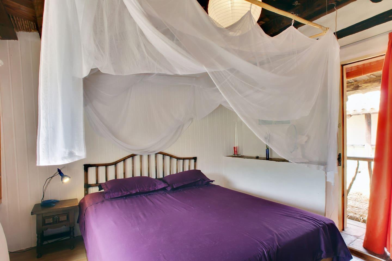 """Matrimonial Bed with Balustrade door. """"MAR"""""""