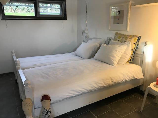 Bedroom, two beds