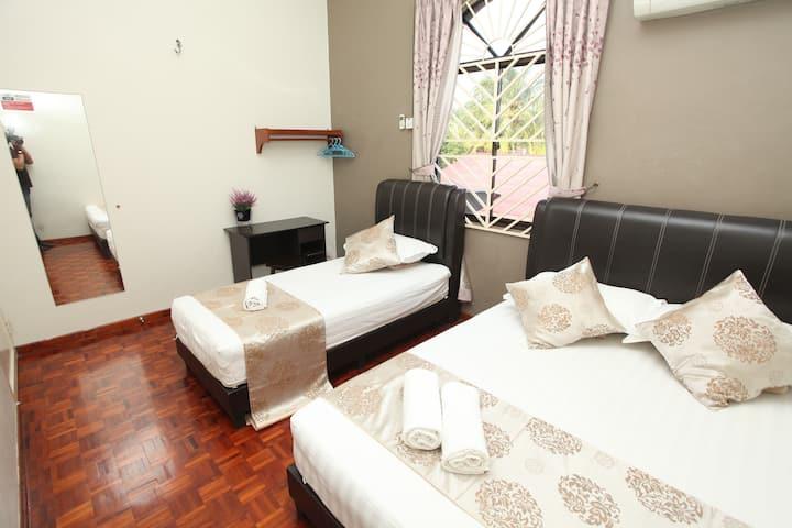 Warni Villa 48 (Room B) Sg.Abong, Muar