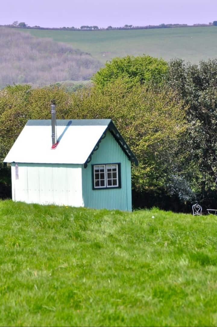 Our Shepherd Hut for your Afternoon Tea