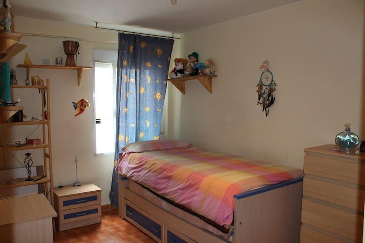 Habitación individual, para 2 pers