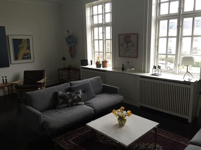 Cosy apartment near Copenhagen city - Hellerup - Lejlighed