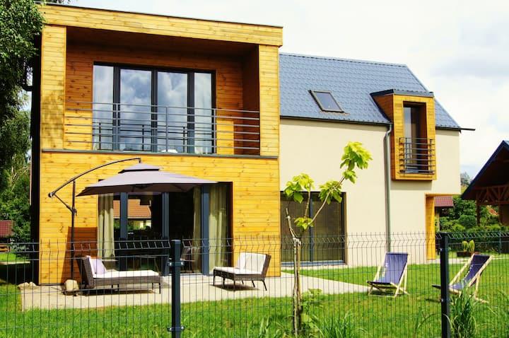 LasPlaża - nowoczesny, komfortowy dom dla 8 osób