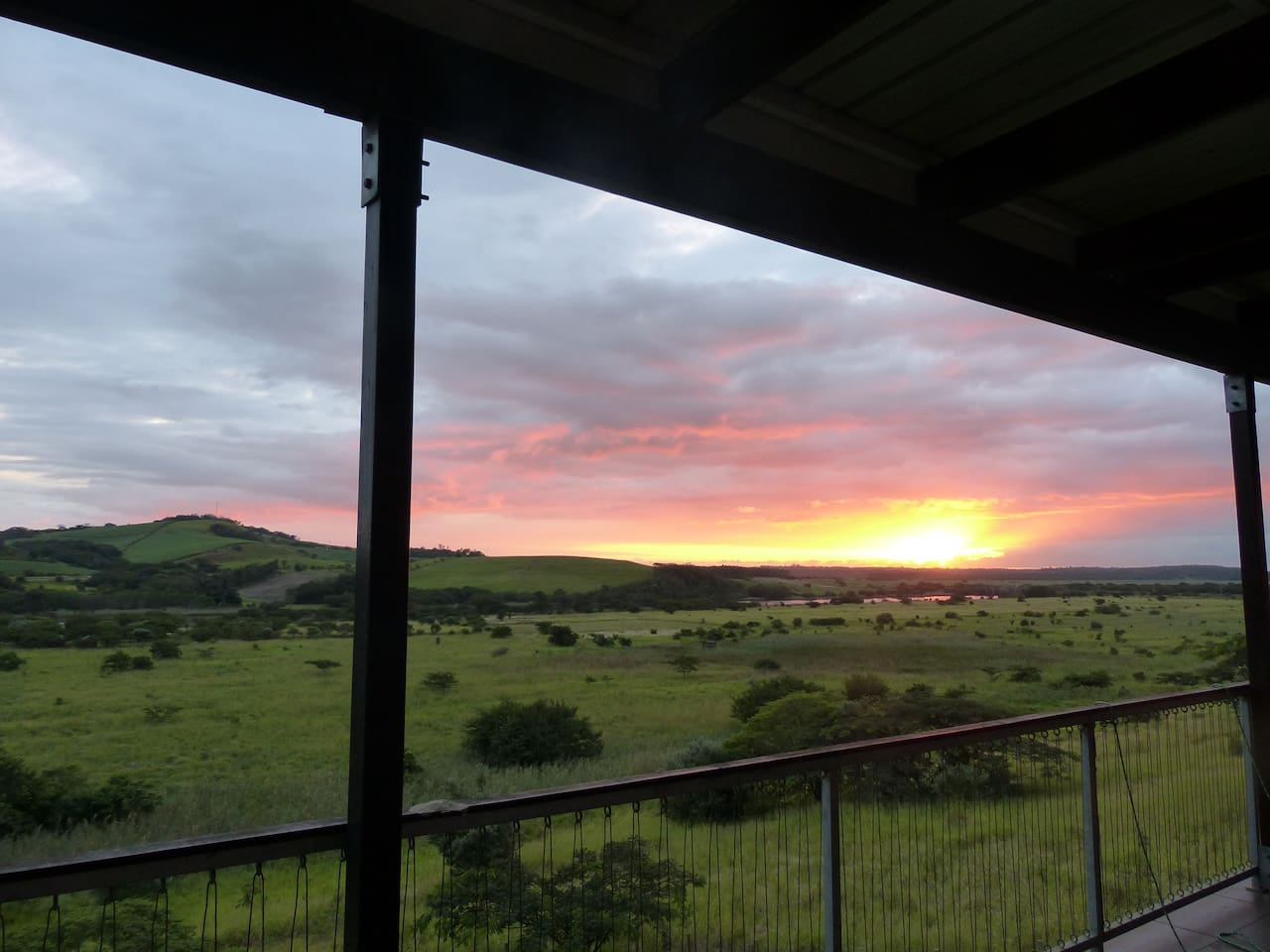 Sunrises from the verandah