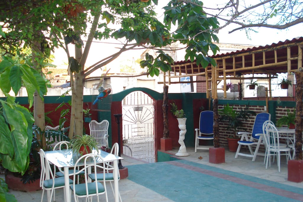 Our beutiful patio when you may love have some breakfast brunch and delicious dinner.