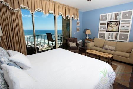 Cozy 12th Floor Studio @ Shores of Panama - Panama City Beach - Condominium