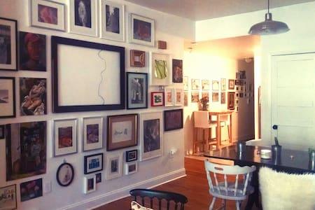 Cozy artist studio