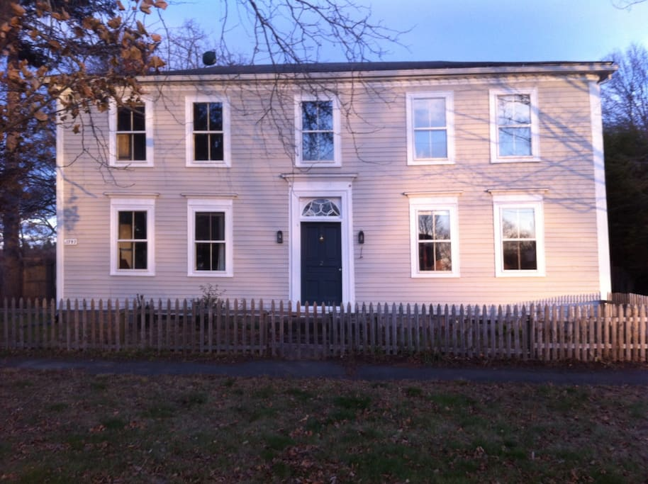 Built in 1797, the Federal-style home on the banks of the Connecticut River awaits your visit!