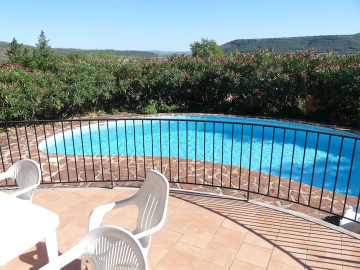 La Bergerie, with private pool and garden