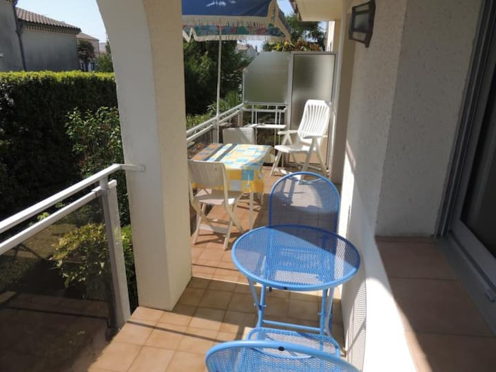 ROYAN PROCHE PLAGE APPARTEMENT T2 - FR-1-71-63