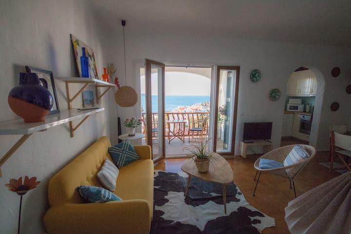 Apartamento impresionantes vistas