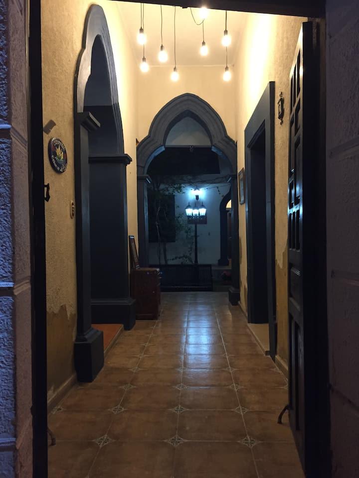 Casa Colonial Hotel Mesón en Matehuala, SLP México