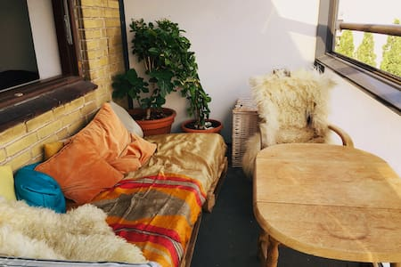 Studio on Amager with a cozy terrace