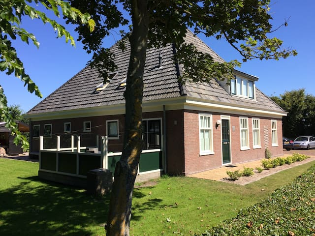 Luxe appartement in stolpboerderij - Callantsoog - Condominium