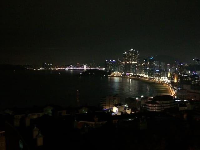★ New) Ocean View) 1) 오션뷰 - Haeundae - Huoneisto