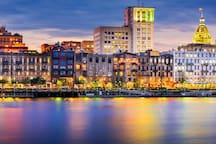 Savannah Waterfront 45 min Away