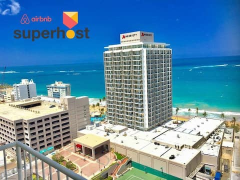 *NEW* OCEAN VIEW  l KING BED l PARKING - ORO SUITE