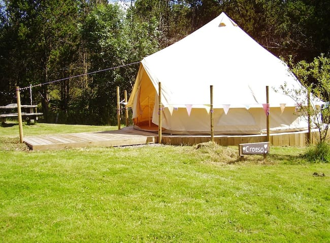 'Remote & Rural Glamping' ~ Outdoor Hot Shower!