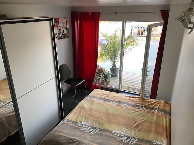 Chambre spacieuse pour 2 personnes - Bénesse-Maremne - Haus