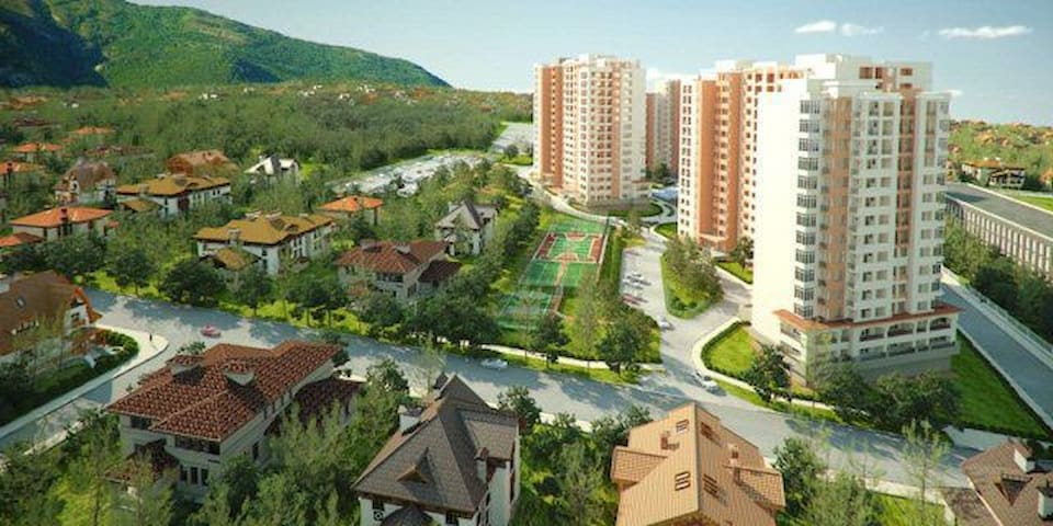 Уютная квартира 45 кв.м. на первом этаже - Gelendzhik - Daire