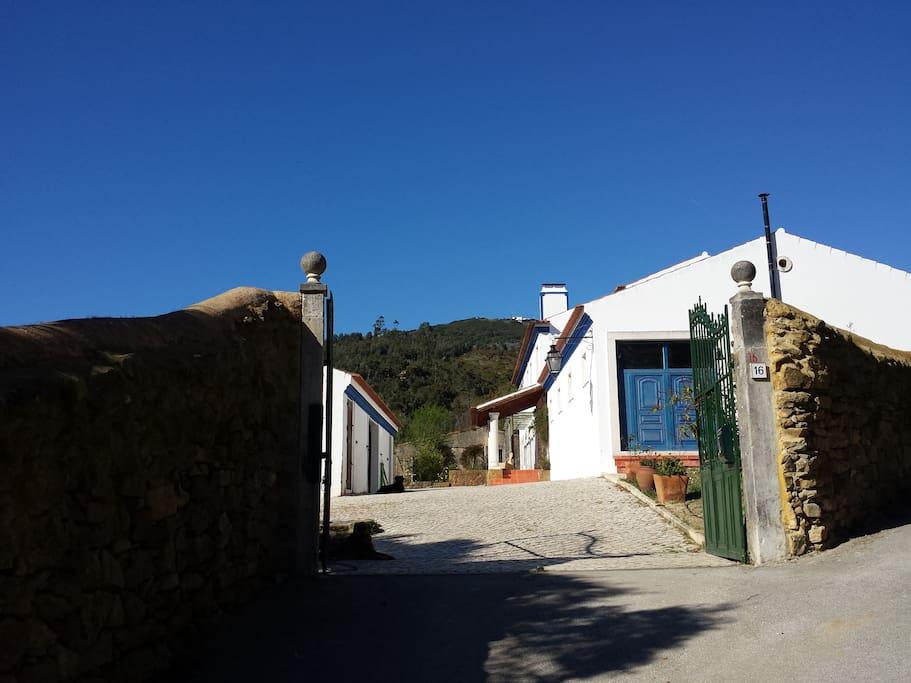 entrada da quinta