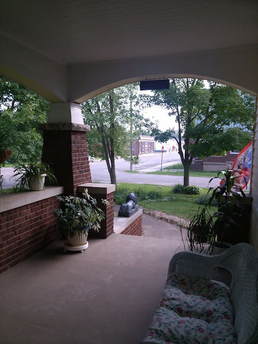 Part of the Porch