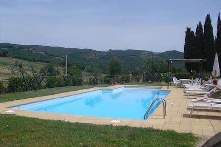 Villa Calcheto - Montecatini Val di Cecina - Casa de camp