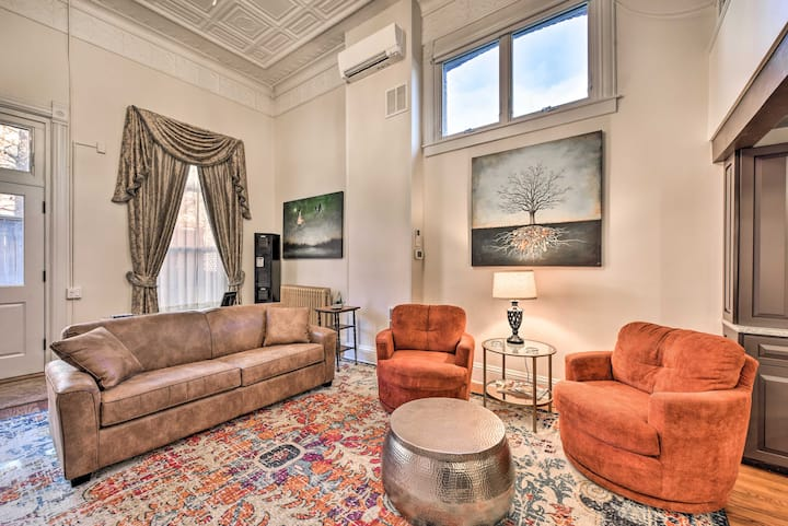 NEW! Elegant + Historic Loft in the Heart of Dtwn!
