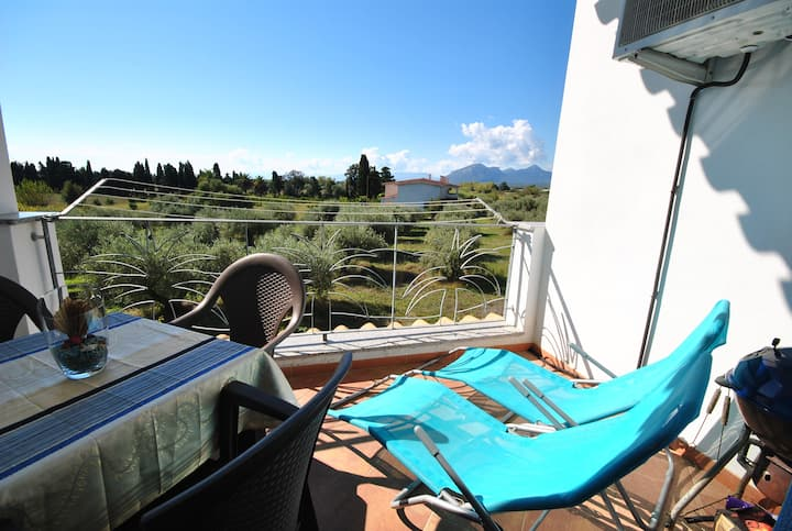 Sunny 3 room apartment with wonderful view