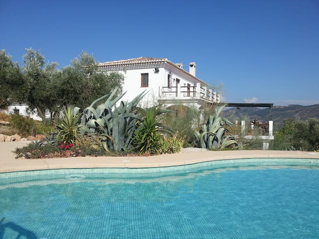 Stunning Andalucian Country House - Iznájar - Huis