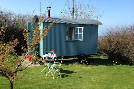Shepherds Hut - Trebiffen Farm - Boscastle - Pousada
