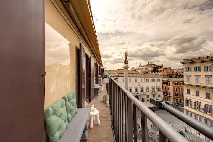 LUXURY DESIGN IN HISTORICAL CENTER - Roma - Pis