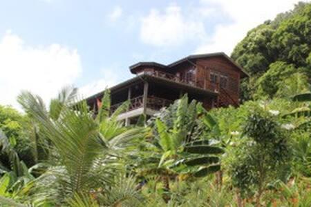 Spectacular Ocean View Garden Villa - Vieux Fort - Casa de camp